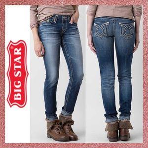 Big Star Jenae Distressed Skinny Denim Jeans 26 2